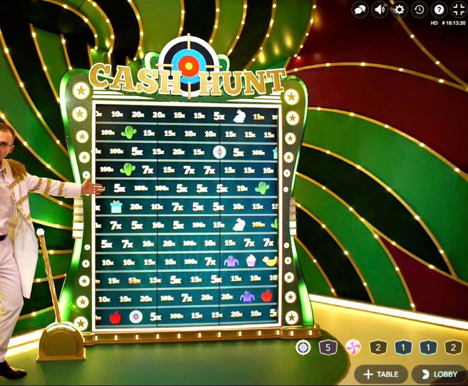 Cash Hunt Crazy Time Bonus